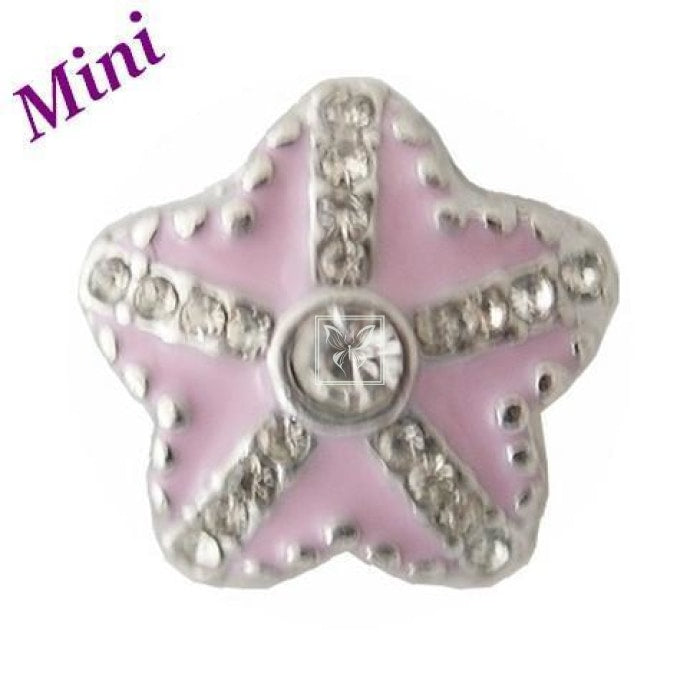 Pink Starfish Mini Mini Snap