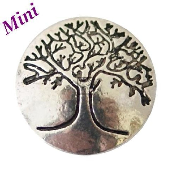 Silver Tree Of Life Mini Mini Snap