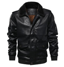Load image into Gallery viewer, Winter Men's Faux Leather Jackets