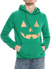 Load image into Gallery viewer, Kangaroo Pocket Halloween Printed Men Hoodie