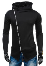 Load image into Gallery viewer, Oblique Zipper Hoodie