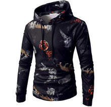 Load image into Gallery viewer, Rose And Tiger Hoodie