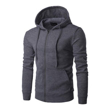 Load image into Gallery viewer, Solid Color Cardigan Hoodie
