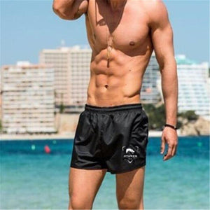 Fashion Youth Loose Elastic Waist Sport Short Pants