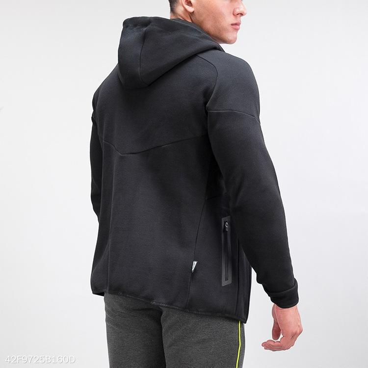 Casual Outdoor Bodybuilding Plain Zipper Outwear