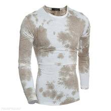 Load image into Gallery viewer, Cotton Gradient Casual Round Neck Long Sleeve