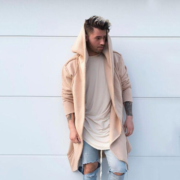 Fashion Loose Plain Windbreaker