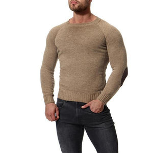 Fashion Casual Youth Thermal Plain Long Sleeve Sweater