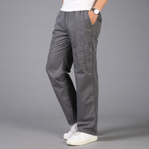Basic Cotton Tooling Trousers 4 Colors