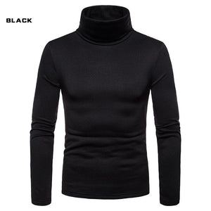 Basic High Collar Long Sleeve Hoodie 6 Colors