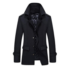 Load image into Gallery viewer, Casual Fashion Youth Slim Plain Button Long Sleeve Men Outerwear