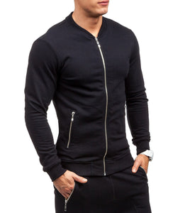 Fashion Casual Slim Coat Pants Sport Suit