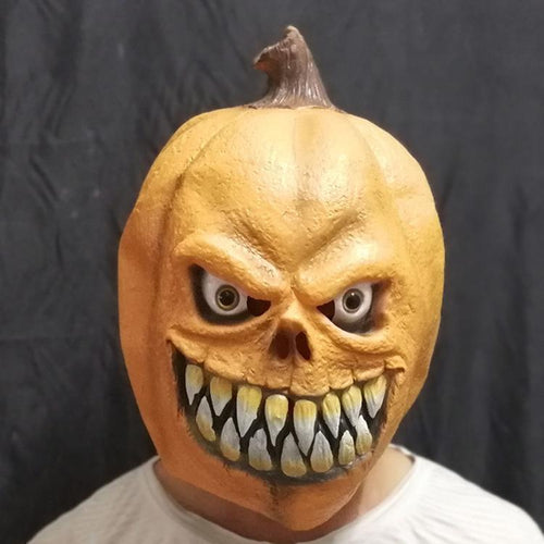 Scary Halloween Punkinhead Mask
