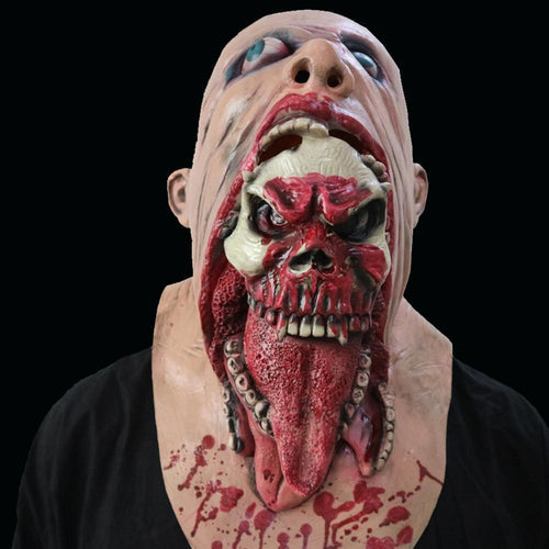 Halloween Zombie Scary Mask Horror Prop