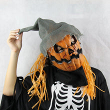 Load image into Gallery viewer, Halloween Scarecrow Mask