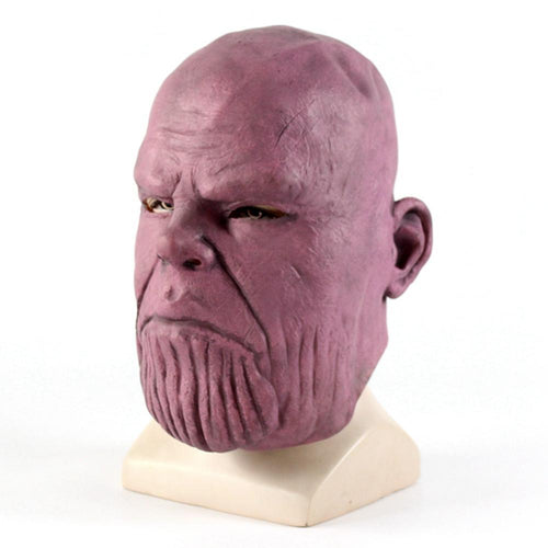 The Avengers Thanos Latex Mask