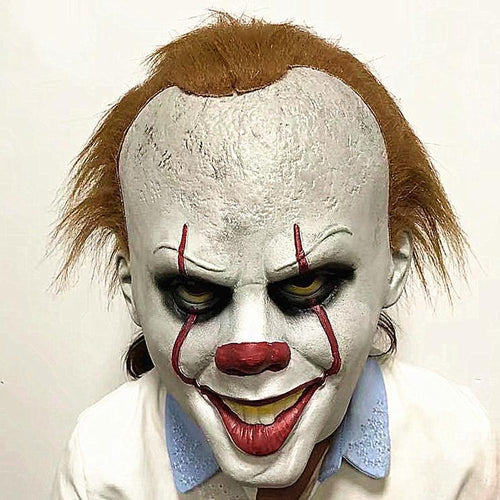 Stephen King's It Horror Clown Scary Mask
