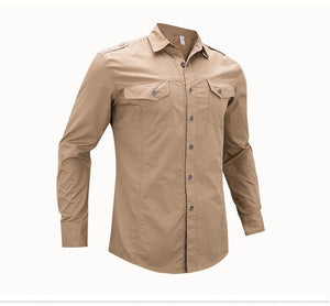 Casual Solid Color Shirt