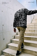 Load image into Gallery viewer, Fashion Lapel Collar Loose Camouflage Loose Shirt