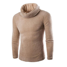 Load image into Gallery viewer, Plain Solid High Choker Warm Sweater