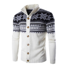 Load image into Gallery viewer, Snowflake Winter Autumn Sweater