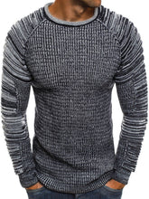 Load image into Gallery viewer, Casual Round Collar Plain Fold Knit Sweater