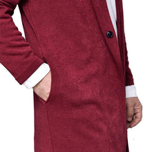 Load image into Gallery viewer, Fashion Plain Winter Knit Long Coat