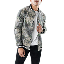 Load image into Gallery viewer, Fashion Lapel Collar Camouflage Printed Jacket Coat