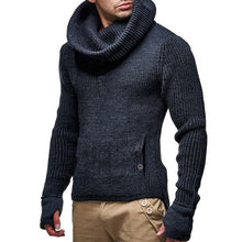 Load image into Gallery viewer, Turtleneck Sweater  Solid Color  Pullover