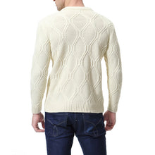Load image into Gallery viewer, Casual Round Collar Plain Slim Sweater