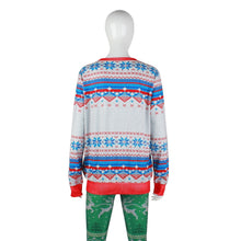 Load image into Gallery viewer, Christmas Round Collar Printed Loose Hoodie