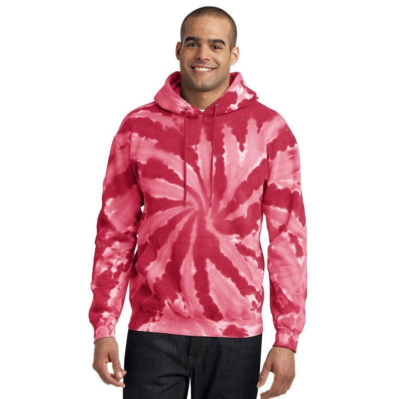 Mens Fashion Tie-Dyed Hoodies