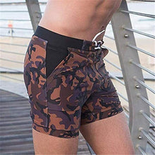 Load image into Gallery viewer, Men's Short Length Camouflage Swimming Shorts