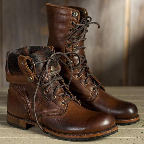 Retro Design Men's Boots