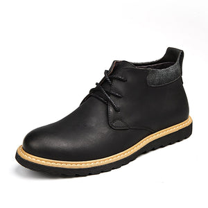 Men's British vintage Martin leather boots