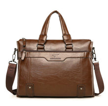 Load image into Gallery viewer, One-shoulder   crossbody briefcase business bag