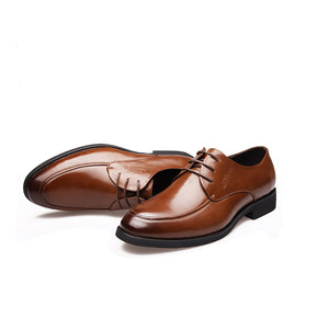 British men's business casual shoes