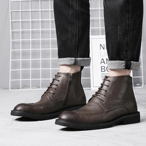 Casual Carve patterns Martin bullock short boots