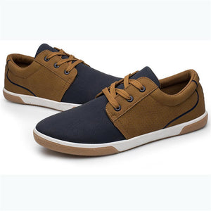 Breathable color matching low cut casual skate shoes