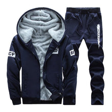 Load image into Gallery viewer, Men's Warm Woolen Thicker Sport Suit, Breathable and Comfortable