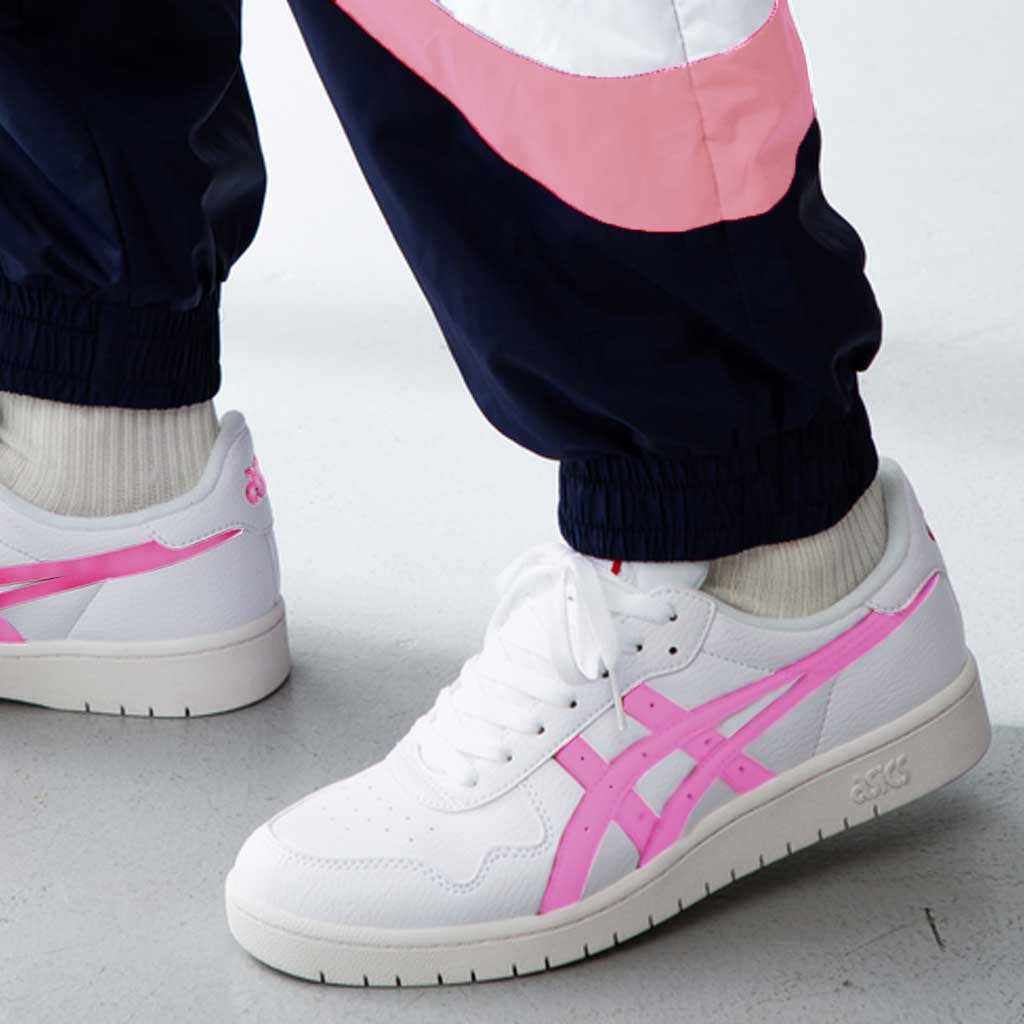 Asics Japan GS - Sneakers Donna e Bambina Bianco Rosa