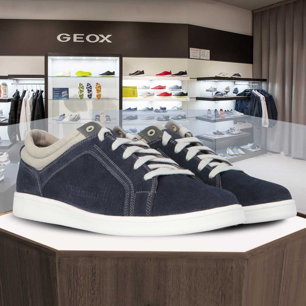 GEOX U WERRENS - Sneakers Stringate Uomo