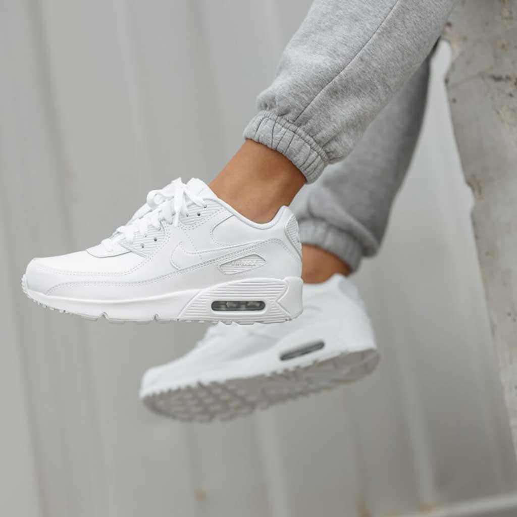 Nike Air Max 90 LTR GS - Sneakers Donna Bianche | Speedd