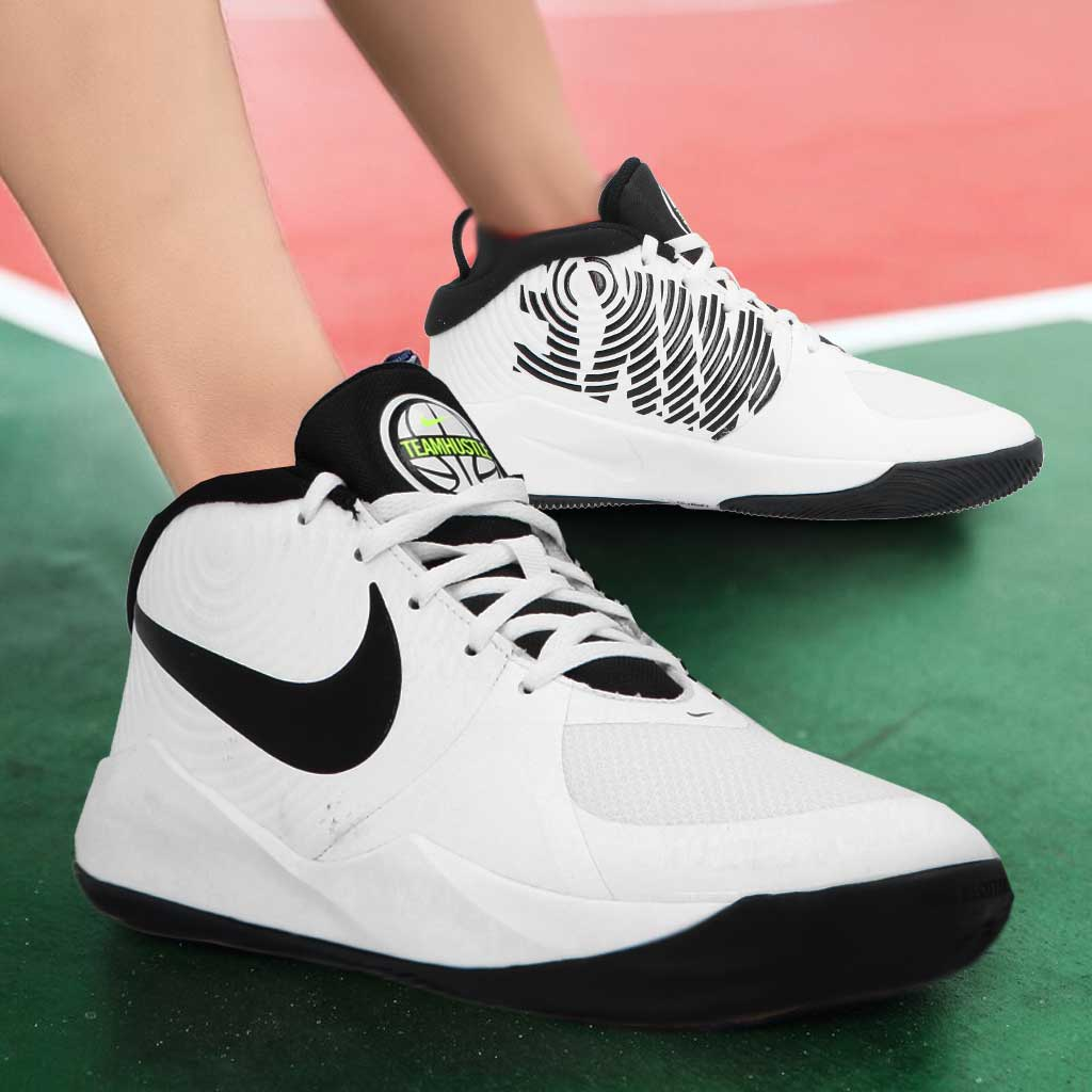 Nike Team Hustle D 9 GS - Sneakers Donna Bianche
