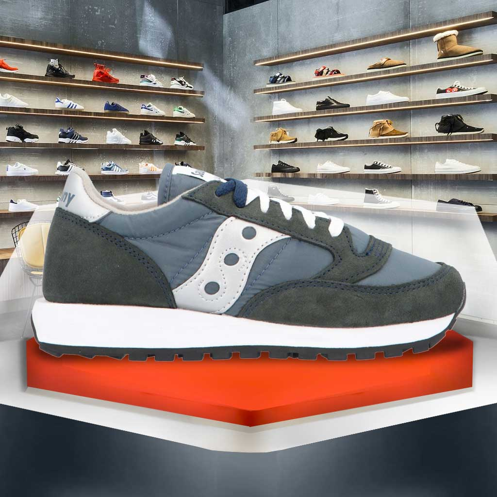 Saucony Jazz Original - Sneakers Unisex Scamosciate