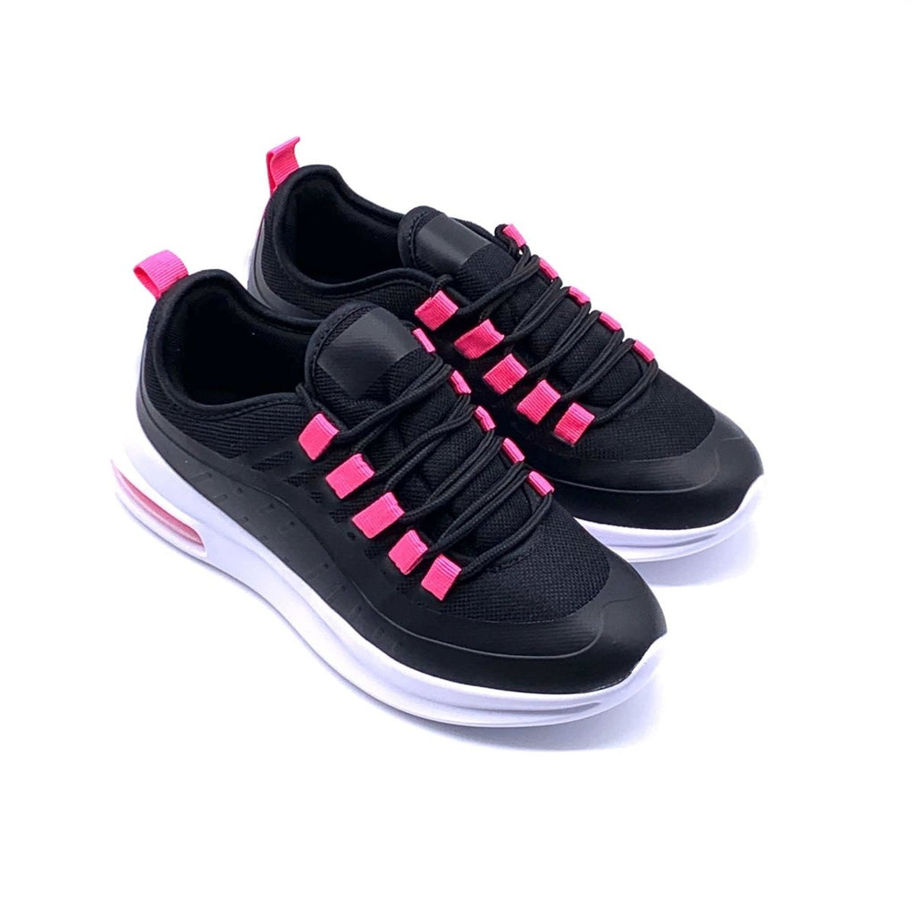 Sneakers Material da donna con suola air