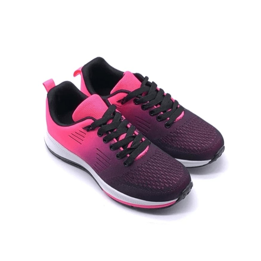Sneakers Training Rosa e Nere