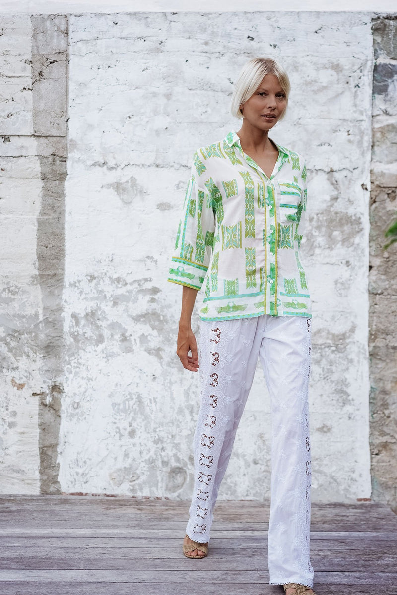 ALOHA VEIL COTTON SHIRT