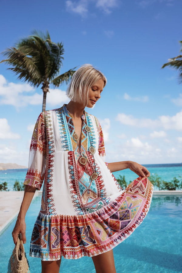 CIRIANA ANKA SILK TUNIC - LIMITED EDITION