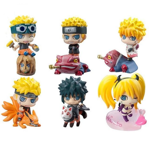 Assortiment de Figurines Naruto